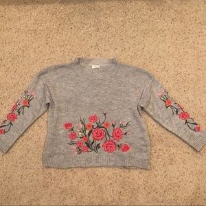 Umgee Embroidered Sweater